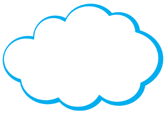 Customize-Your-Own Cloud Magnet, Pack of 50