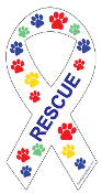 Rescue Ribbon Magnet - Multicolored