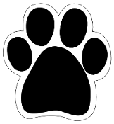 Customize-Your-Own Paw Magnet, Pack of 50