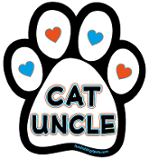 Cat Uncle paw magnet *NEW*