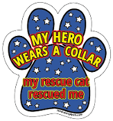 My Hero Wears a Collar - My Rescue Cat Rescued Me *NEW*