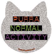 Purranormal Activity cat head magnet *NEW*